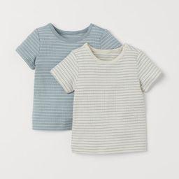 2-pack Cotton T-shirts | H&M (US)