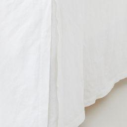 Washed Linen Bedskirt | H&M (US)