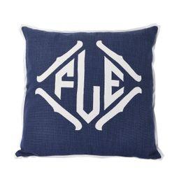 Prussian Applique Pillow | Room 422