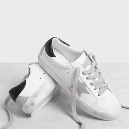 Star Patch Lace Up Splice Sneakers | SHEIN