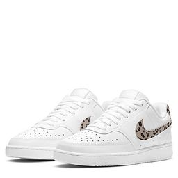 WHITE NIKE Womens Court Vision Low Sneaker | Rack Room Shoes