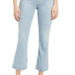 Demy Distressed Crop Flare Jeans | Nordstrom