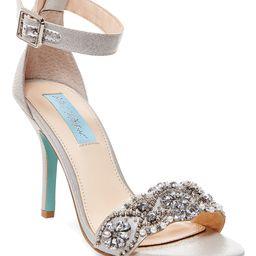 Betsey Johnson Women's Sandals SILVER - Silver Juno Sandal - Women | Zulily