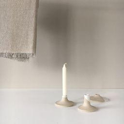 Candle holder set of 3 candlestick made from ceramic   Etsy   Etsy (CAD)