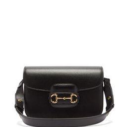 1955 Horsebit leather shoulder bag | Gucci | MATCHESFASHION UK | Matchesfashion (UK)