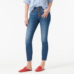 """9"""" high-rise toothpick jean in Litchfield wash 