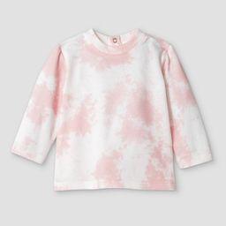 Grayson Mini Baby Girls' Tie-Dye Sweatshirt - Pink   Target