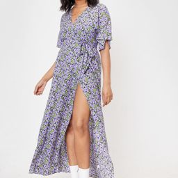 Leaf Me Out of It Plus Floral Maxi Dress | NastyGal (US & CA)