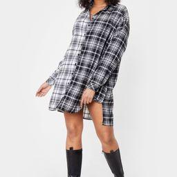 We Best Check Going Plus Shirt Mini Dress | NastyGal (US & CA)