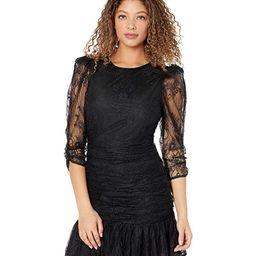 ASTR the Label Rosalind Dress (Black) Women's Clothing   Zappos