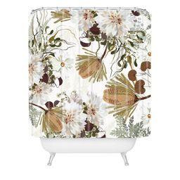Iveta Abolina Juliette Charm Shower Curtain Brown - Deny Designs   Target