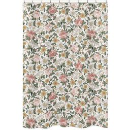 Vintage Floral Shower Curtain - Sweet Jojo Designs   Target