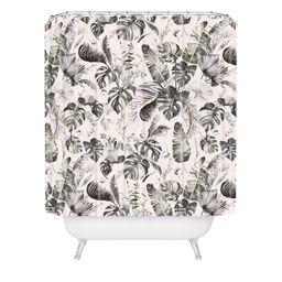 Marta Barragan Camarasa Wild Farah Shower Curtain Gray - Deny Designs   Target