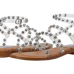 Steve Madden Travel-R Sandal (Clear) Women's Shoes | Zappos