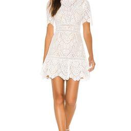 SAYLOR Darian Dress in Star White from Revolve.com   Revolve Clothing (Global)