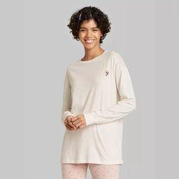 Women's Long Sleeve Oversized T-Shirt - Wild Fable™   Target