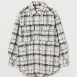 Plaid Shirt Jacket | H&M (US)