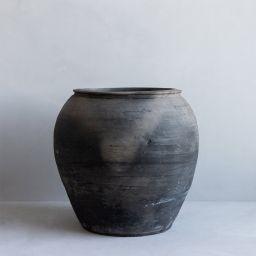 Brushed Charcoal Vase | McGee & Co.