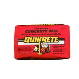 Quikrete 50 lb. Fast-Setting Concrete Mix-100450 - The Home Depot | The Home Depot