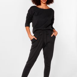 Weekend Loading Knit Sweater and Joggers   NastyGal (US & CA)