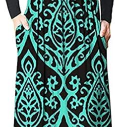 AUSELILY Women Long Sleeve Loose Plain Maxi Dresses Casual Long Dresses with Pockets | Amazon (US)