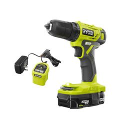 RYOBI 18-Volt ONE+ Cordless 3/8 in. Drill/Driver Kit with 1.5 Ah Battery and Charger-PDD209K - Th... | The Home Depot