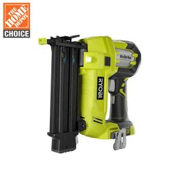 RYOBI 18-Volt ONE+ Cordless AirStrike 18-Gauge Brad Nailer (Tool Only) with Sample Nails-P320 - T... | The Home Depot