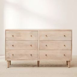 Amelia 6-Drawer Dresser | Urban Outfitters (US and RoW)