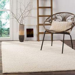 Safavieh Handmade Natura Gerta Wool Rug - 8' x 10' - Ivory | Overstock
