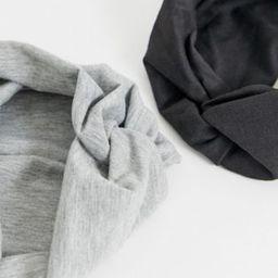 ASOS DESIGN pack of 2 twist front headbands | ASOS (Global)