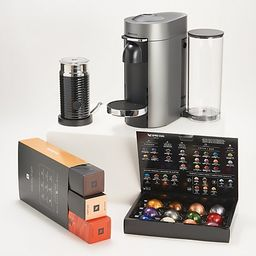 Nespresso VertuoPlus Deluxe Coffee & Espresso Maker w/ Milk Frother | QVC
