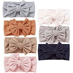 Baby Girl Nylon Headbands Newborn Infant Toddler Hairbands and Bows Child Hair Accessories   Amazon (US)