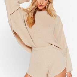 Knit's Bound to Happen Sweater and Shorts Set | NastyGal (US & CA)