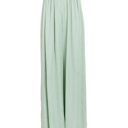 STAUD Astor Wide-Leg Pants, Light Green S | INTERMIX