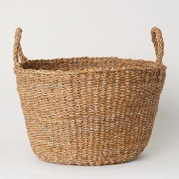 Large Braided Storage Basket   H&M (US)