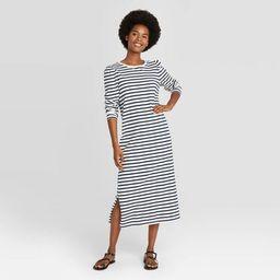 Women's Puff Long Sleeve T-Shirt Dress - Universal Thread™   Target