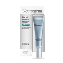Neutrogena Rapid Wrinkle Repair Anti-Aging Eye Cream for Wrinkles with Hyaluronic Acid, 0.5 fl oz | Walmart (US)
