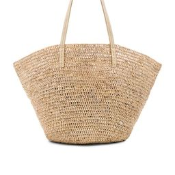 florabella Sapelo Tote in Almond Silver from Revolve.com | Revolve Clothing (Global)