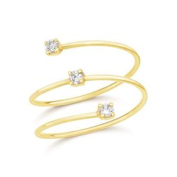 Floating Diamond Wrap Ring | Ring Concierge