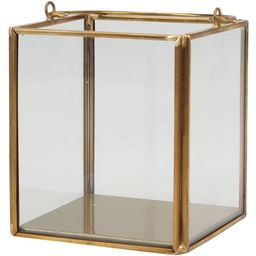 Better Homes & Gardens Glass and Gold Small Lantern   Walmart (US)