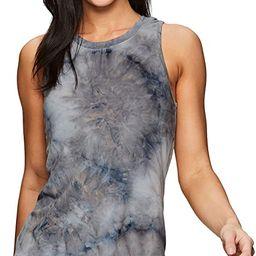RBX Active Women's Fashion Basics Super Soft Flowy Yoga Tie Dye Tank Top   Amazon (US)