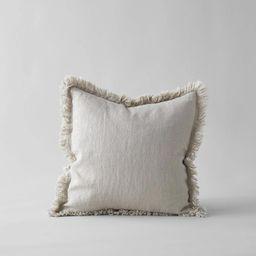 Linen Pillow in Natural 20x20   Bloomist