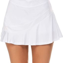 Ekouaer Women's Athletic Golf Skorts Lightweight Skirt Pleated with Pockets for Running Tennis Wo... | Amazon (US)