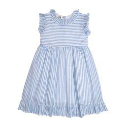 Isabella Blue Striped Dress | The Oaks Apparel Company