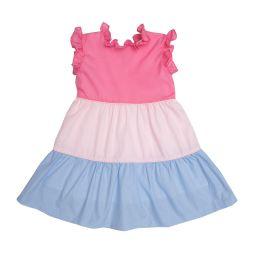 Valeria Multicolored Dress | The Oaks Apparel Company