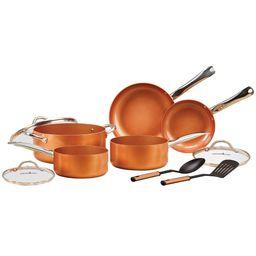 Copper Chef 10 Piece Nonstick Pan Set, with CeramiTech   Walmart (US)