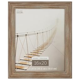"""Rustic Brown 16"""" x 20"""" Frame, Home Collection by Studio Décor® 