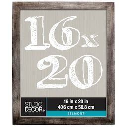 """8 Pack: Gray 16"""" x 20"""" Belmont Frame By Studio Décor® 