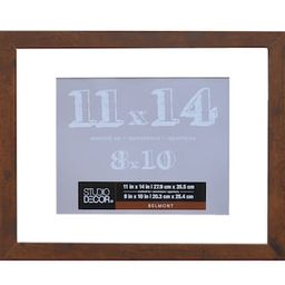 Honey Frame with Mat, Belmont by Studio Décor® | Michaels Stores