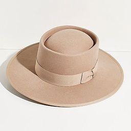 Harlow Felt Boater Hat   Free People (US)